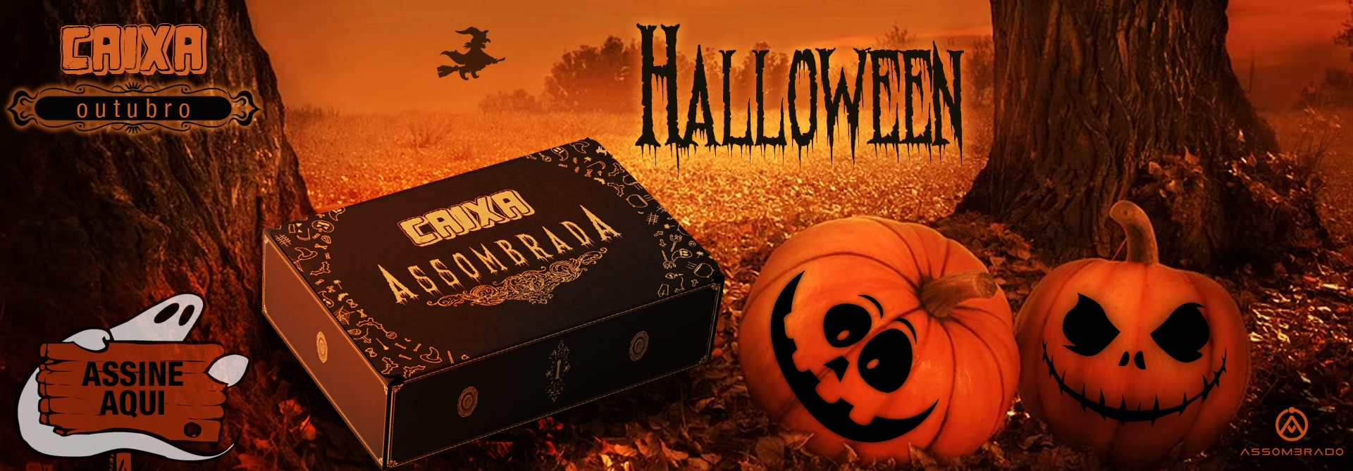 Caixa Assombrada Halloween