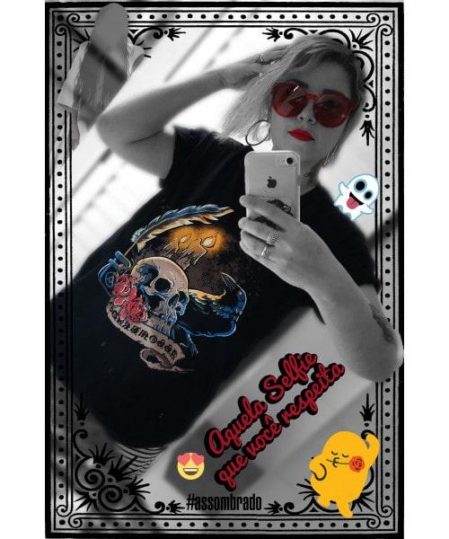 Camiseta Inspirada nos Relatos (Brilha no Escuro!) + Foto AUTOGRAFADA!