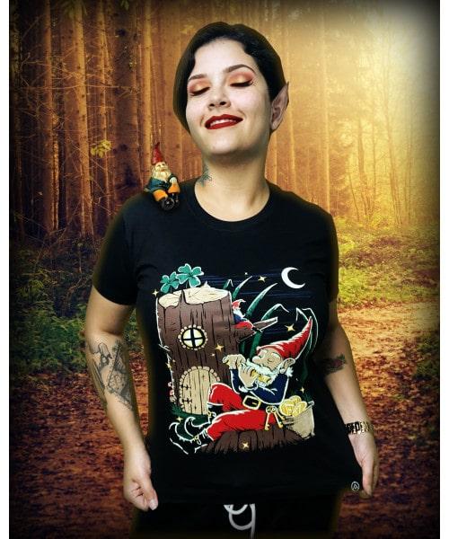 Camiseta Gnomo  (BRILHA NO ESCURO!)