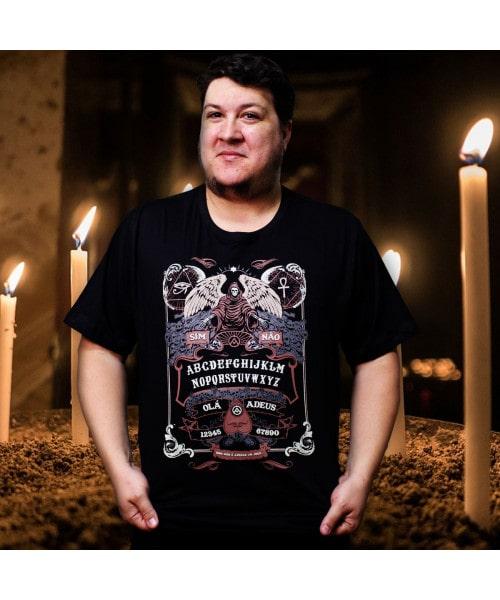Camiseta Tabua Ouija (Brilha no Escuro!)