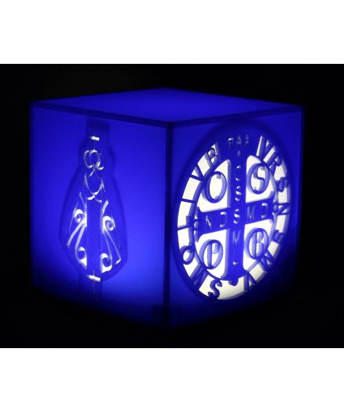 Luminária Cubo: Religiosa
