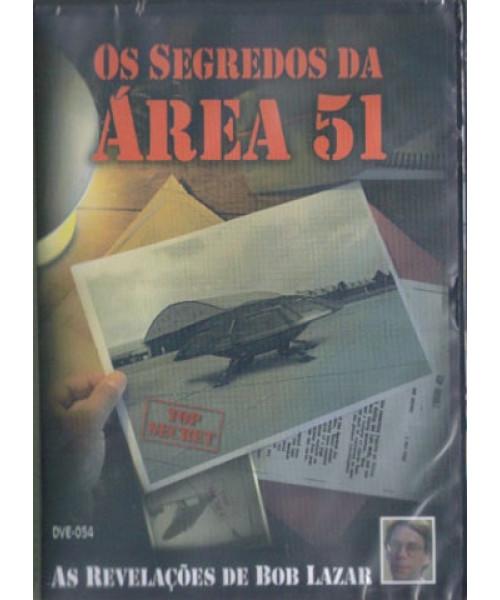 DVD Os Segredos da Área 51