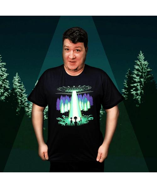 Camiseta Contato (Brilha no Escuro!)