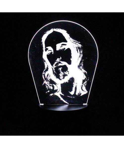 Luminária em Acrílico Sem Fio: Jesus