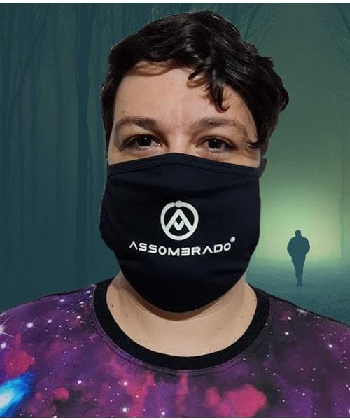 Máscara de Proteção (Brilha no Escuro!)
