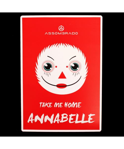 Placa Annabelle